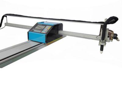 prenosný cnc plameň / plazmový rezací stroj oceľ 8mm cnc kovový rezací stroj pre mosadz medi