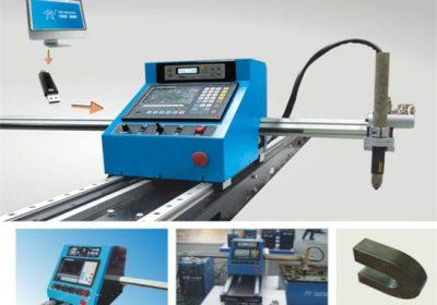 Nerezová oceľová uhlíková ocel Prenosná CNC plazmová rezačka cena