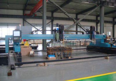 CNC portál plazmového plameňového rezacieho stroja na železné plechy