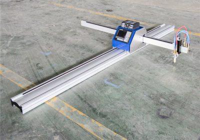CNC plazmový rezací stroj pre nerez / oceľ / koľajnicu