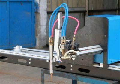 Mini portál CNC plazmového rezacieho stroja / plazmového rezača CNC s plynom