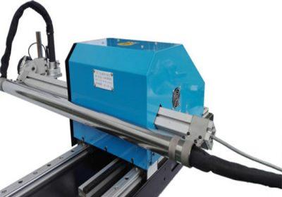 Typ portálu CNC plazmový rezací stroj, oceľové dosky rezanie a vŕtanie stroje továrenské ceny