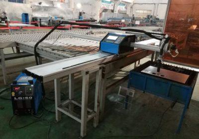CNC plazmový a plameň rezací stroj prenosný fréza na predaj