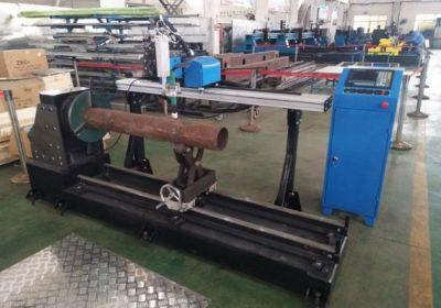 Nový produkt prenosný cnc plazma z nerezovej ocele potrubia rezanie stroj