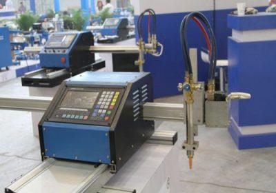 CNC rezací stroj z kovových plechov a kovových rúrok, s plazmovým rezaním aj rezacím horákom na kyslík