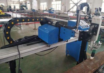 Cnc plazmový stroj na rezanie potrubia pre oceľové plechy z nehrdzavejúcej ocele