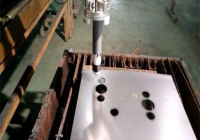 certifikovaný trvanlivý cnc plameň / plazmový rezací stroj ľahko ovládateľný stabilný prenosný cnc plazmový rezací stroj