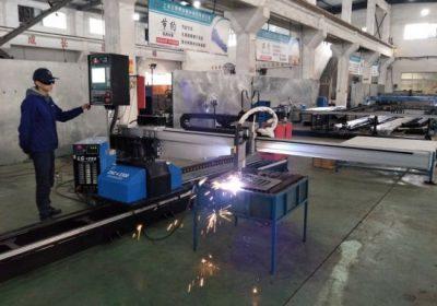 CNC prenosné plazmové plameňové rúrky rezací stroj z porcelánu s továrenskou cenou