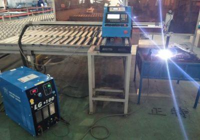 Typ portálu CNC Plazmové rezanie a plazmový rezací stroj, oceľové dosky rezanie a vŕtanie stroje továrenské ceny