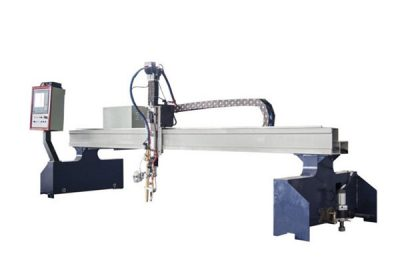 Prenosný CNC plazmový rezací stroj na rezanie plynu